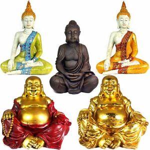 Buddha-Figuren-Figur-Happy-Gluecksbuddha-Feng-Shui-Skulptur-Statue-Gartenfigur