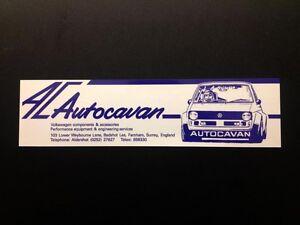 Autocavan-Sticker-BLUE-1970-1980-039-s-244x63mm-VW-Motorsport-UK