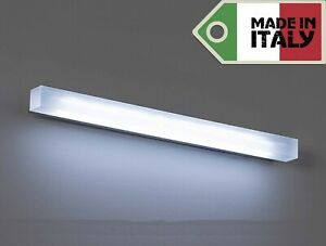 Lampada applique a led design moderno specchio muro stile luce
