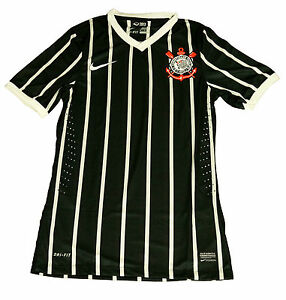 Image is loading Corinthians-Nike-Away-Player-issue-shirt-Size-Medium 7beb426db