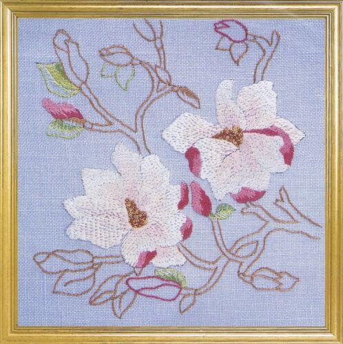 Magnolias Embroidery Kit By DMC K4652
