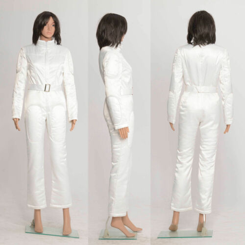 Star Wars A New Hope Princess Leia Organa White Jumpsuit Cosotume Cosplay