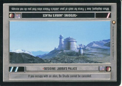 Star Wars CCG Special Edition Tatooine Jabba/'s Palace