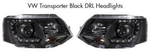 LED-DRL-Xenon-Look-Headlights-vw-transporter-t5-face-lift