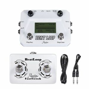 Details about Rowin Beat Loop Drum Machine+Recording Looper Max  50min+Foot  Switch