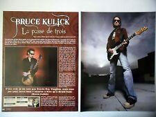 COUPURE DE PRESSE-CLIPPING :  BRUCE KULICK [5pages]02/2010 BK3,Kiss,G.F.Railroad