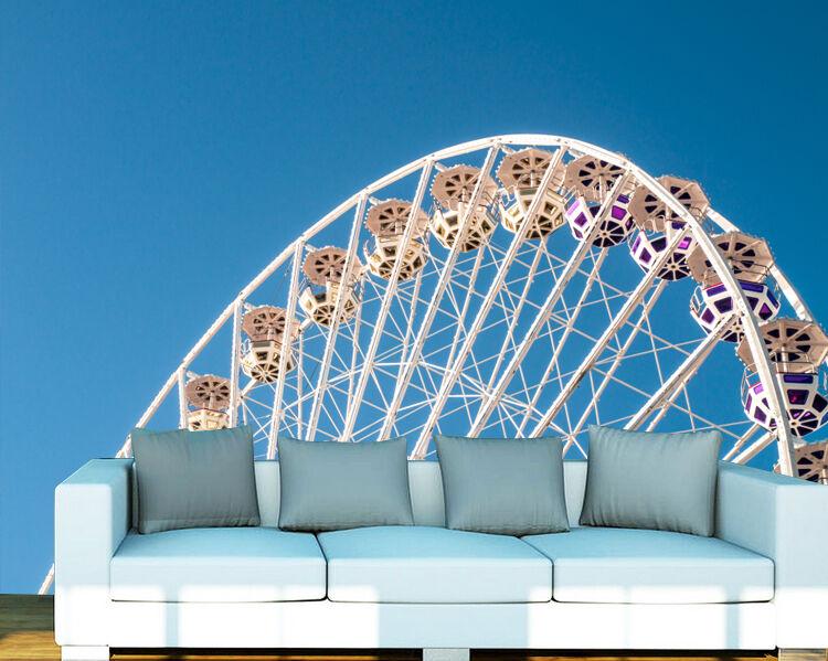 3D Das Riesenrad 0443 Fototapeten Wandbild Fototapete BildTapete Familie DE