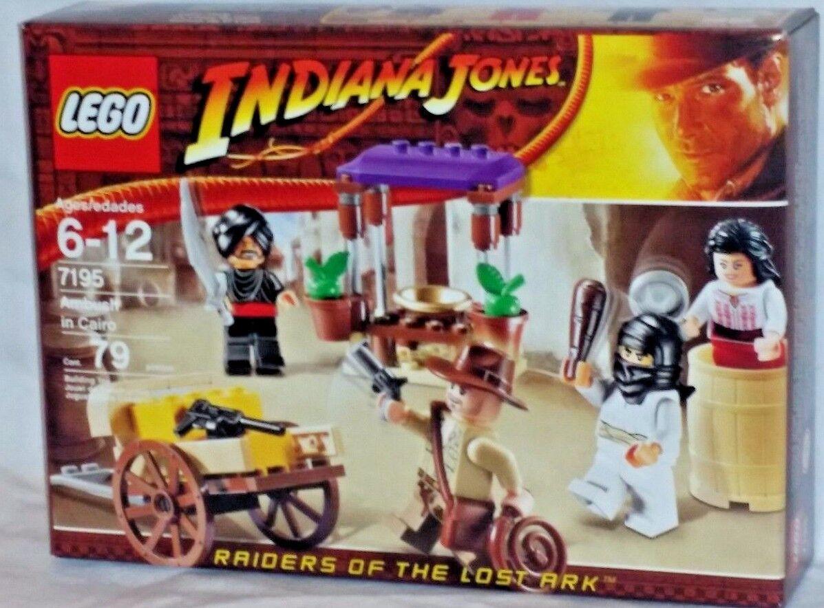 7195 LEGO Indiana Jones Raiders of the Lost Ark AMBUSH IN CAIRO 79pc set RETIROT
