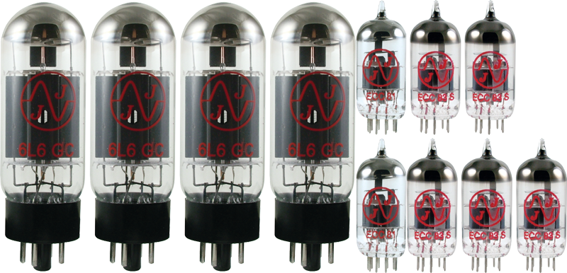 Tube Set - for Fender Twin Reverb - 1983 JJ Electronics APEX Matched Power Tubes
