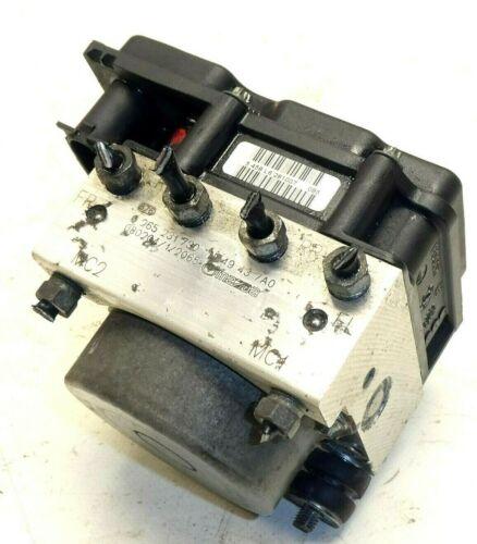 Mazda mx-5 III NC 1.8 ABS bloque hydraulikblock 0265231730 0265800517