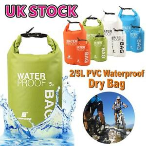 b6cffb040f52 Details about 2L 5L Waterproof Dry Bag Storage Dry Sack Hiking Camping  Kayaking Fishing