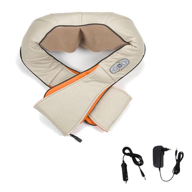 Shiatsu Massage Elektrisch Schultermassage Nackenmassagegerät mit Wärmefunktion