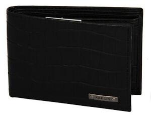 Portafoglio uomo pelle wallet GUESS a.SM3136 LEA20 cm.12,5x9 colore NERO