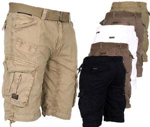 Geographical-norway-Men-039-s-Cargo-Shorts-Bermuda-Summer-Knee-Length