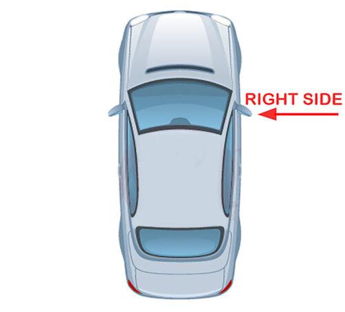 AUDI A6 2012 lado derecho climatizada /& Placa base /> 2018 Puerta//Ala Espejo De Cristal