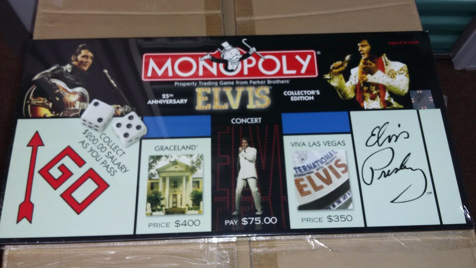 Elvis monopoly game  NEW