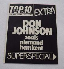 Don Johnson Miami Vice POPMAGAZINE SUPER SPECIAL EXTRA Dutch