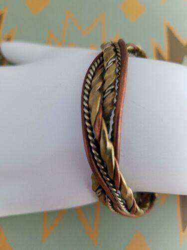 unisex. Hammared twist copper bracelet Copper bracelet for man and woman Thin adjustable bracelet Antiqued twist copper bracelet