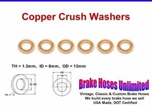 COPPER-CRUSH-WASHERS-8mm-ID