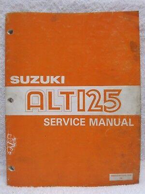 informafutbol.com 1983 1984 1985 1986 Suzuki ALT125 Service Repair ...