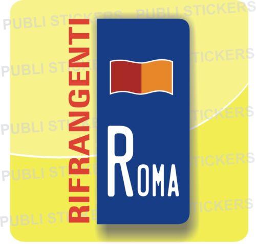 ADESIVO TARGA EUROPEA PER AUTO O CAMION CON SIMBOLO E PROVINCIA DI ROMA
