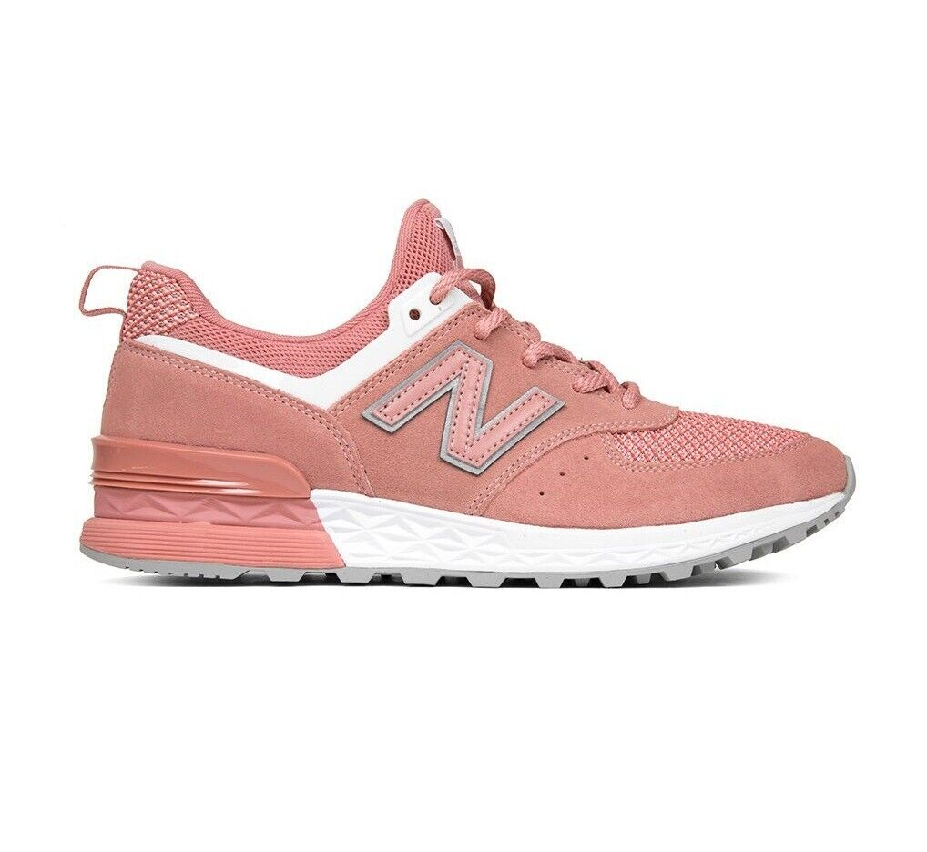 New Balance 574 MS574STP Dusted Peach White Mens Running Size 9
