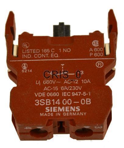 NEW Siemens 3SB1400-0B