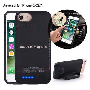Iphone-6-6S-7-Magnetico-3000mAh-Estuche-Cargador-Bateria-Externa-Power-Pack