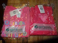 Daisy Girl Scout Pink T-shirt & Pants Set Xxs 4/5 Last Ones
