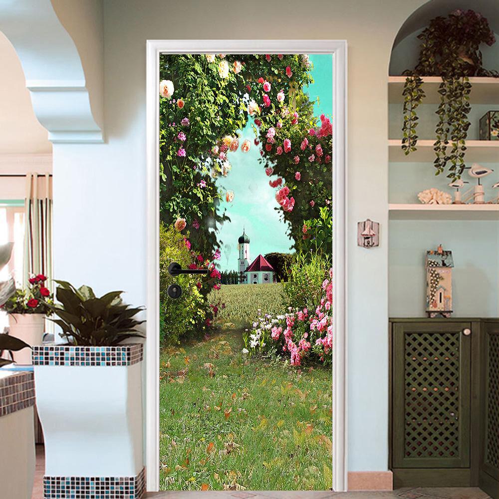 3D Der Der Der Bogen 724 Tür Wandmalerei Wandaufkleber Aufkleber AJ WALLPAPER DE Kyra    Die Königin Der Qualität    Leicht zu reinigende Oberfläche    Fein Verarbeitet  aea8e0