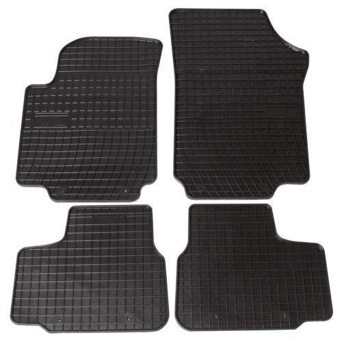 EUGAD Auto Fußmatten Gummimatten Teppich geeignet für SKODA Citigo 0085QCJD
