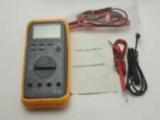 Digital Multimeter Auto Range Dmm Model My 69 With Leads Amp Manual Barely Used