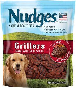 Griller-Nudges-Dog-Treats-Mini-Real-Steak-Standard-Packaging