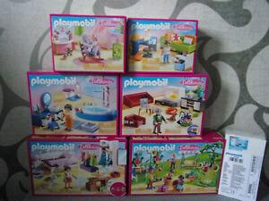 Playmobil-Dollhouse-Set-039-s-zum-aussuchen-Neu-amp-OVP