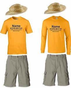 Details Zu T Shirt Hut Hose Mit Ihrem Namen Kostum Snake Rock Fur Dschungelcamp Fans