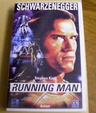 VHS - The Running Man - Arnold Schwarzenegger - 1987 80iger 80er - Videokassette
