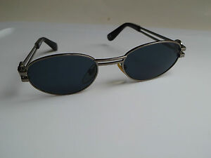 63250b487e48 Image is loading GIANNI-VERSACE-Sunglasses-Mod-S41-brushed-silver-frame-