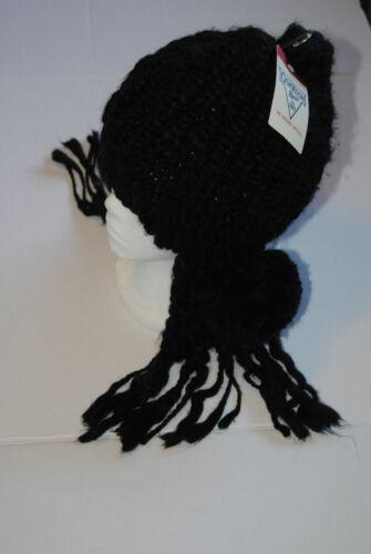 MSRP $20 OshKosh B/'gosh Girl/'s Thick Black with Dreads /& Rosette Size 7-12