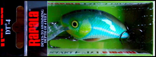 Tropic Ice color VERY RARE RAPALA DIVES TO 4 Ft DT4  5 cm SPECIAL TRI