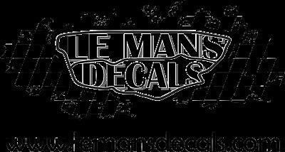 Le Mans Decals