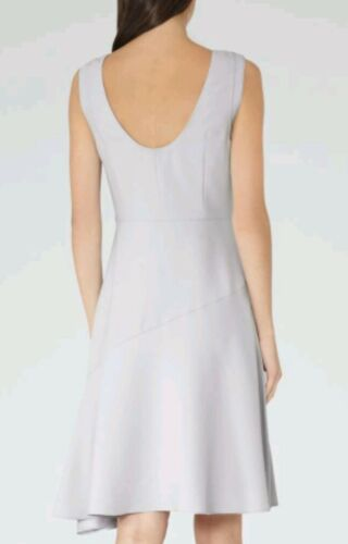 Taille Neuf Yuki Handkerchief Designer Reiss Longueur Genou Dress Hem Au 4 Marque Bleu AwAaH1R