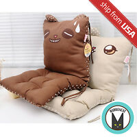 Us Cute Bear Novelty Car Back Seat Cushion Home Decor Cartoon Pillow Sofa Kawaii