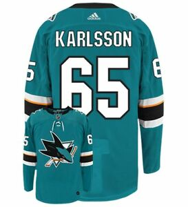 Image is loading San-Jose-Sharks-65-Erik-Karlsson-Home-Blue- 4d5e80654