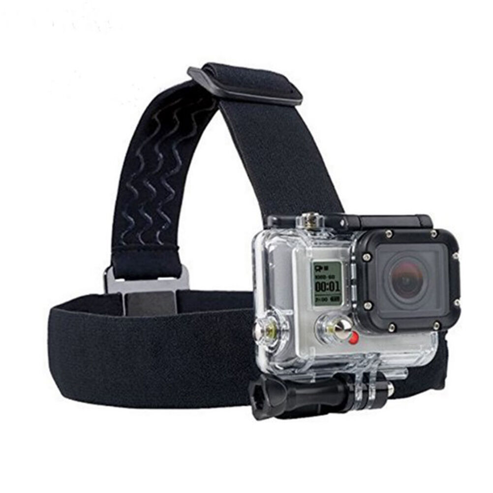 Action Camera Accessory Headband Chest Head Strap Mount For Go pro Hero He U Ud