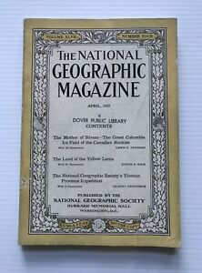 National-Geographic-Magazine-April-1925-The-Land-Of-The-Yellow-Lama