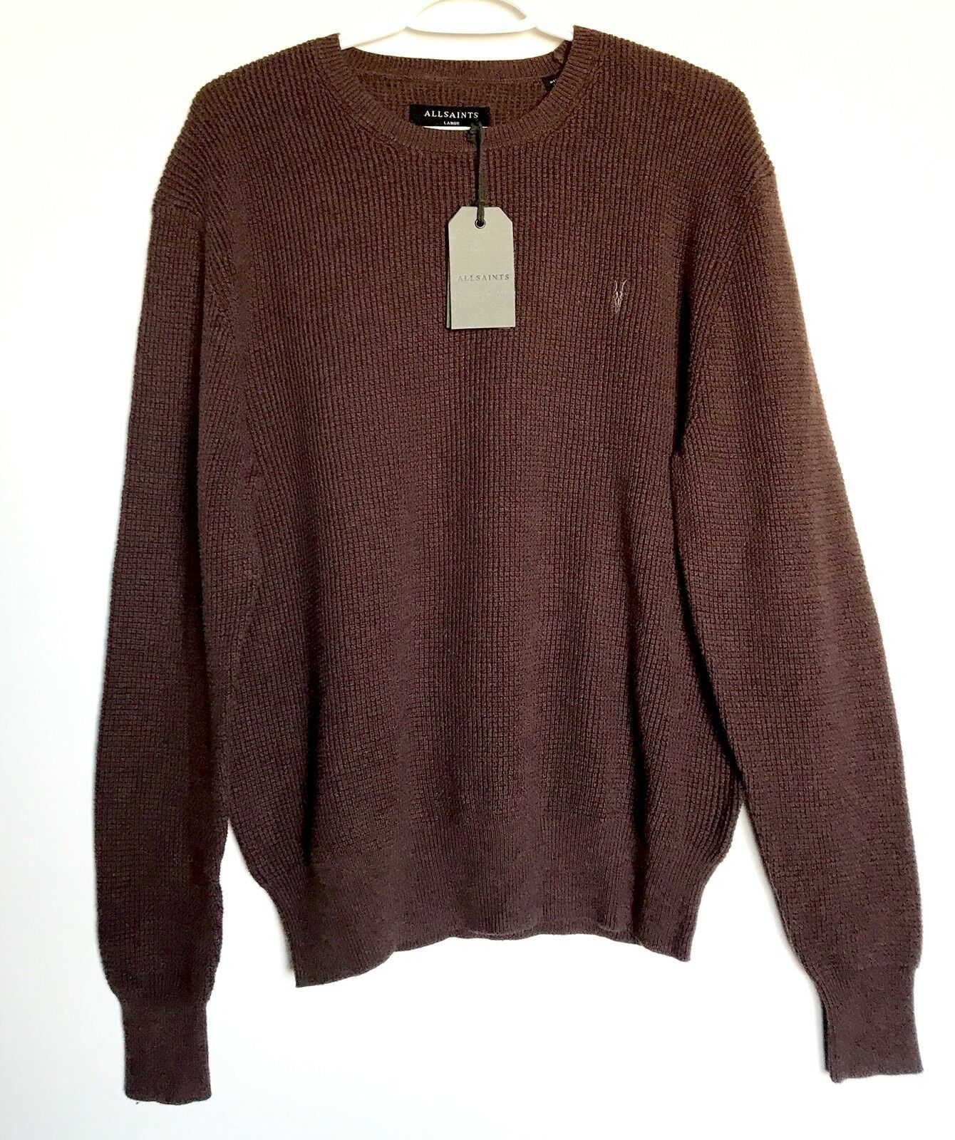 AllSaints Trias Crew Knitwear Retail 140 NWT Price 78 All Saints L
