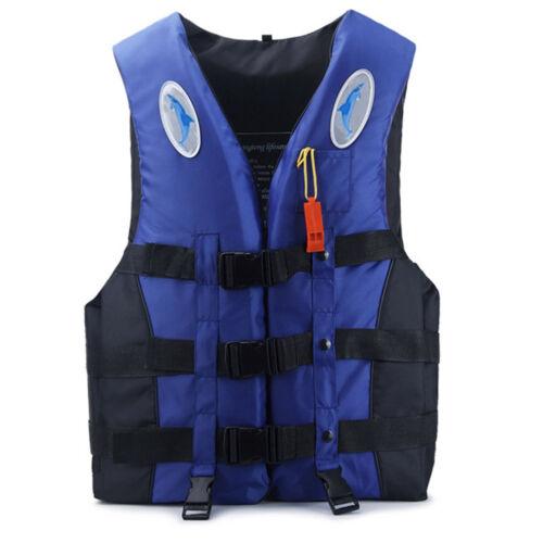 Adult Watersport Sailing Fishing Aid Vest Life Jacket Kayak Ski Buoyancy