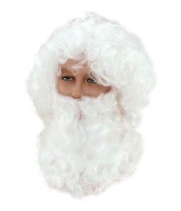 HO-HO-HO-Santa-Claus-Father-Christmas-Wig-amp-Beard-Fancy-Dress-Mens-Ladies-Ideas
