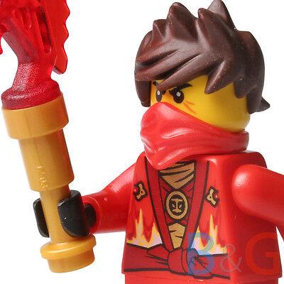 LEGO Ninjago Rebooted Kai with Techno Blade from set 70721 Kai Fighter njo091