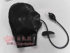 NEW 100% Handmade Latex Rubber Hood Mask Inflatable gag mask cosplay L28